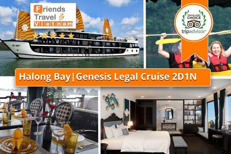Friends Travel Vietnam Genesis Regal Cruise | 2D1N Lan Ha Bay
