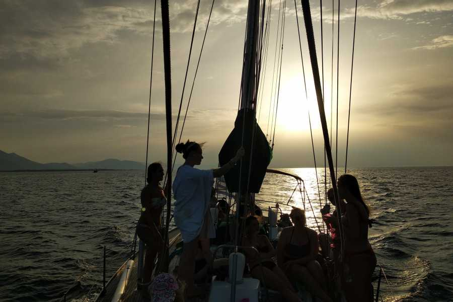 Evia Adventure Tours Sailing / Sunset Cruise to North Evian Gulf