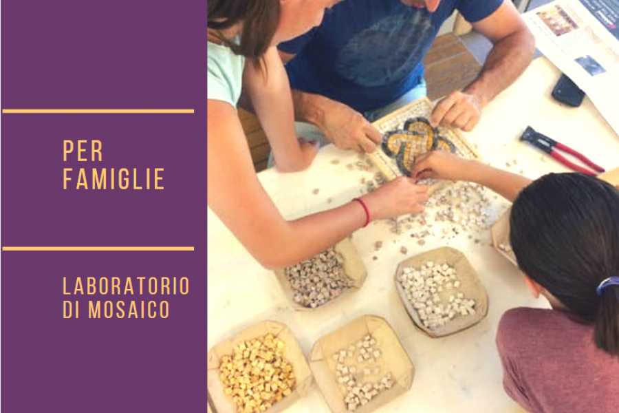Workshop di mosaico per famiglie