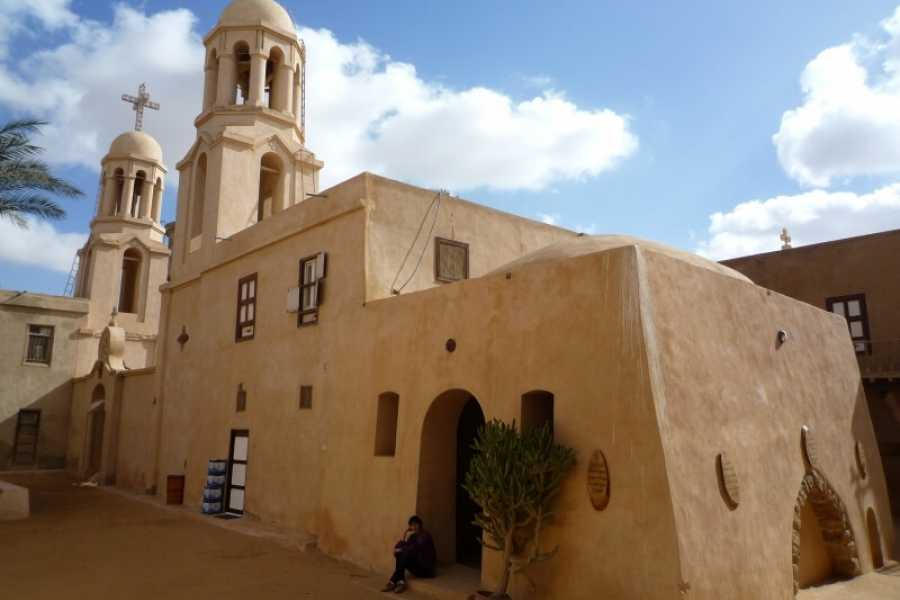 Journey To Egypt One Day Trip to Wadi El Natroun Monastery from Cairo