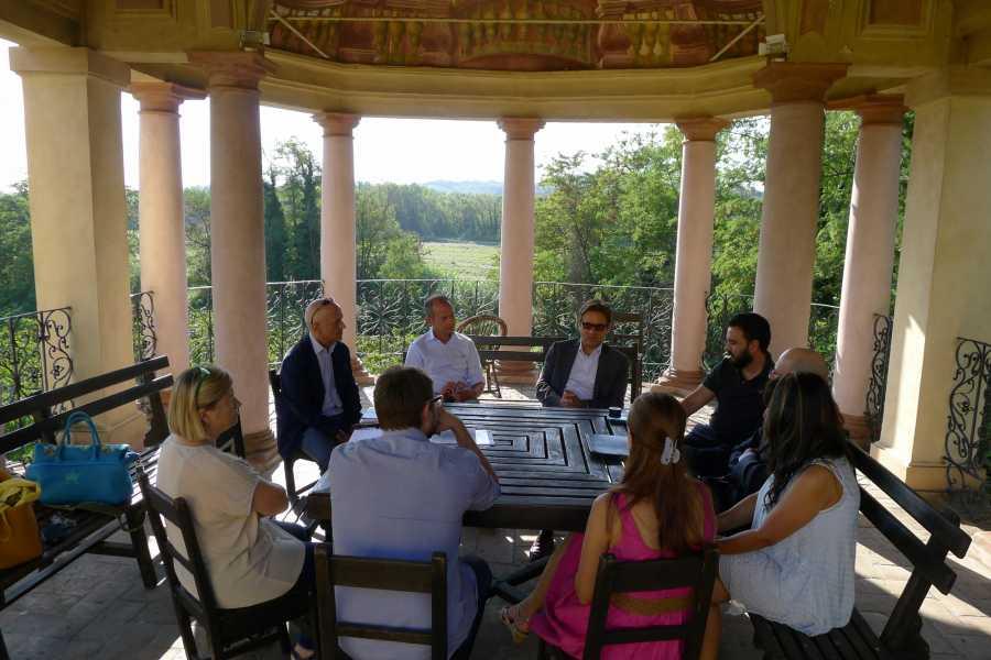 Emilia Romagna Welcome Harmony Steps