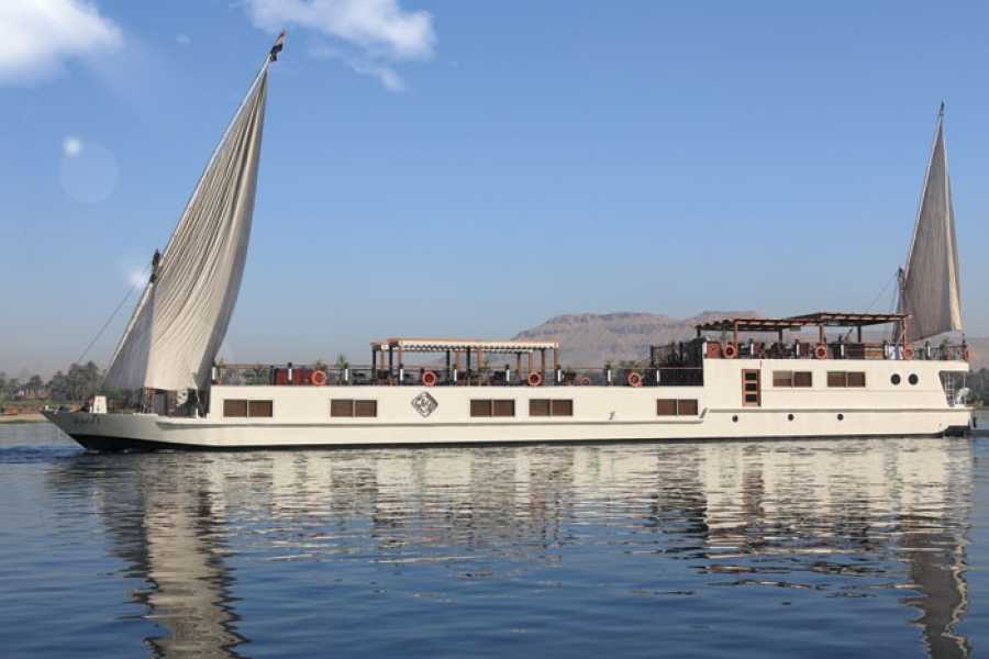 Journey To Egypt Luxury Nile Cruise on authentic Merit Dahabeya