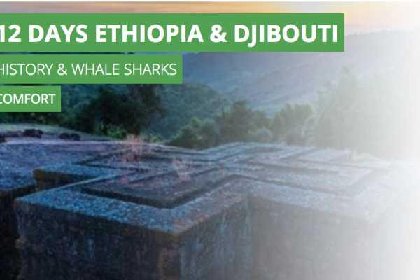 12 days Ethiopia & Djibouti History & whale sharks Comfort