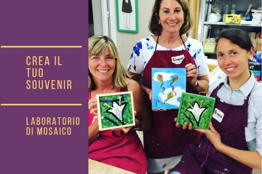 Ravenna Incoming Convention & Visitors Bureau Short mosaic workshop