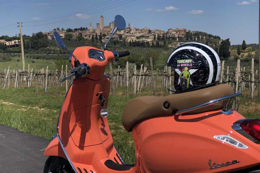 Italy on a Budget tours VESPA RENTAL CHIANTI