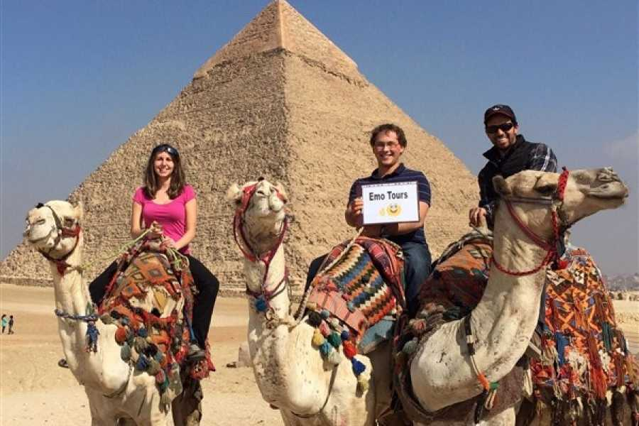 EMO TOURS EGYPT Great Pyramids, Sphinx, Valley Temple and Boat Museum