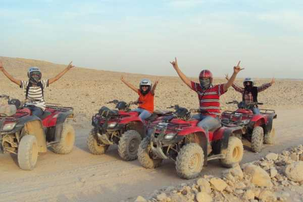 Excursies Egypte Afternoon Quad Bike Safari Excursion from EL Gouna