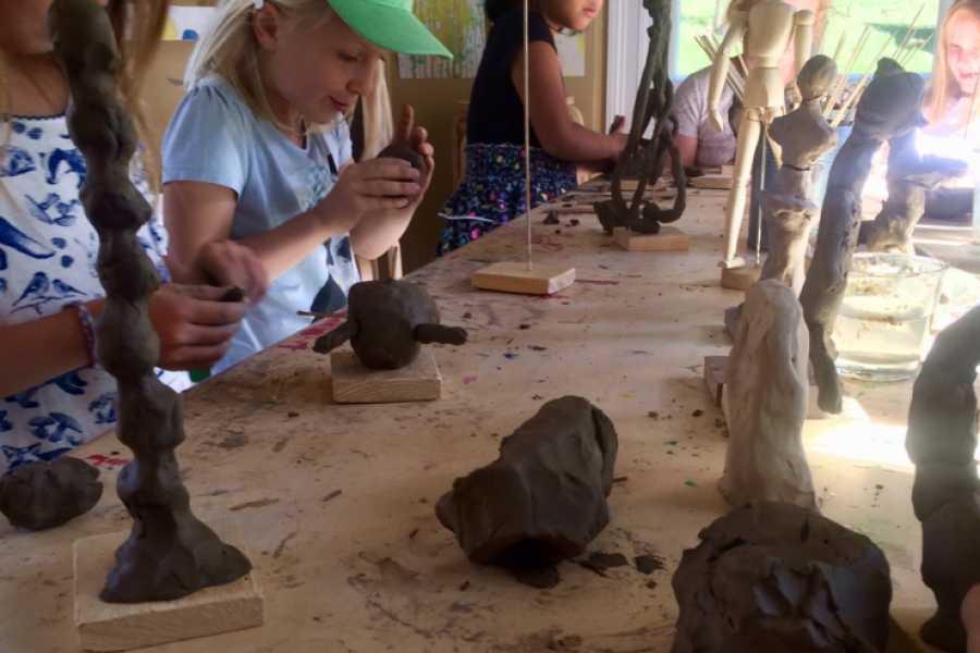 Ekebergparken Hakkespettene: Skulpturverksted