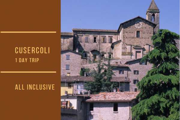 Ravenna Incoming Convention & Visitors Bureau One Day Trip: Cusercoli & Borgo Basino