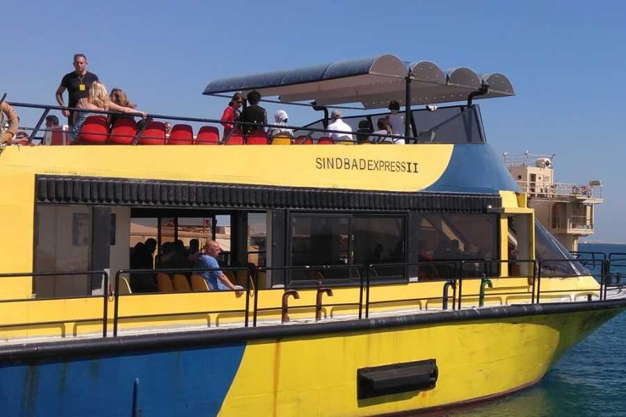 Excursies Egypte Sindbad submarine tour from El Gouna