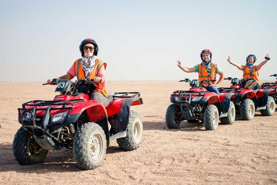 Excursies Egypte ATV Quad Bike Ride at Giza Pyramids