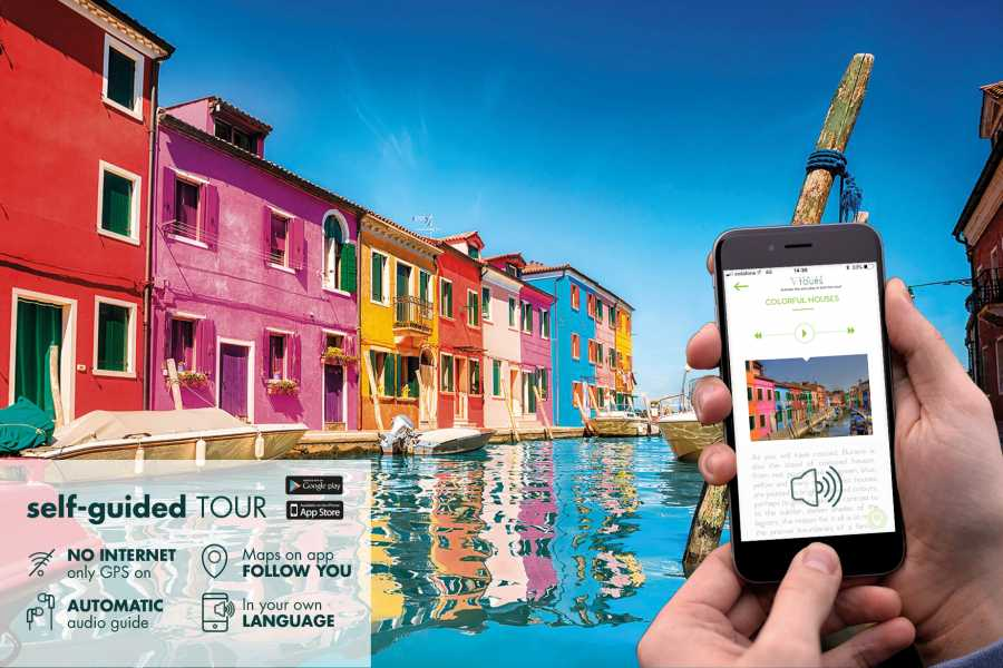 Venice Tours srl The marvelous islands of the lagoon: self-guided tour!