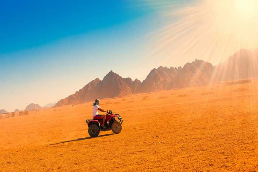 Marsa alam tours HURGHADA DESERT SUNSET SAFARI TRIP BY QUAD BIKE