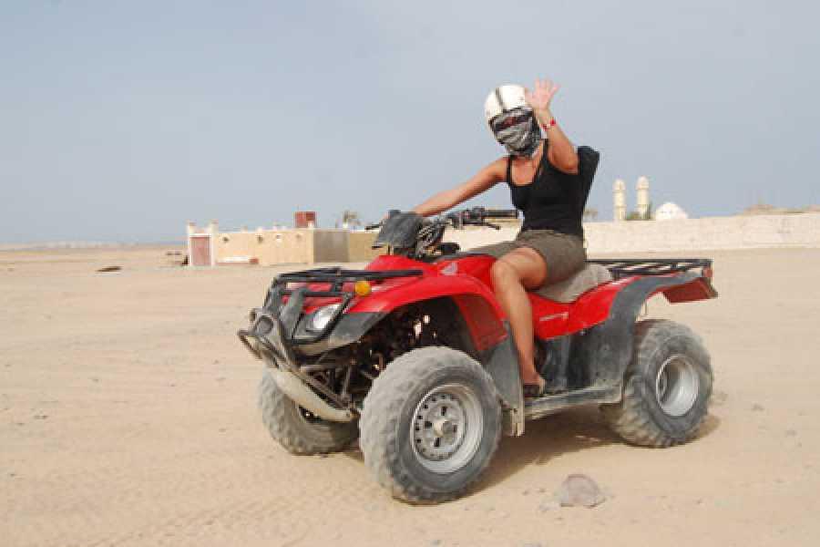 Excursies Egypte Super Quad Biking trip from Hurghada
