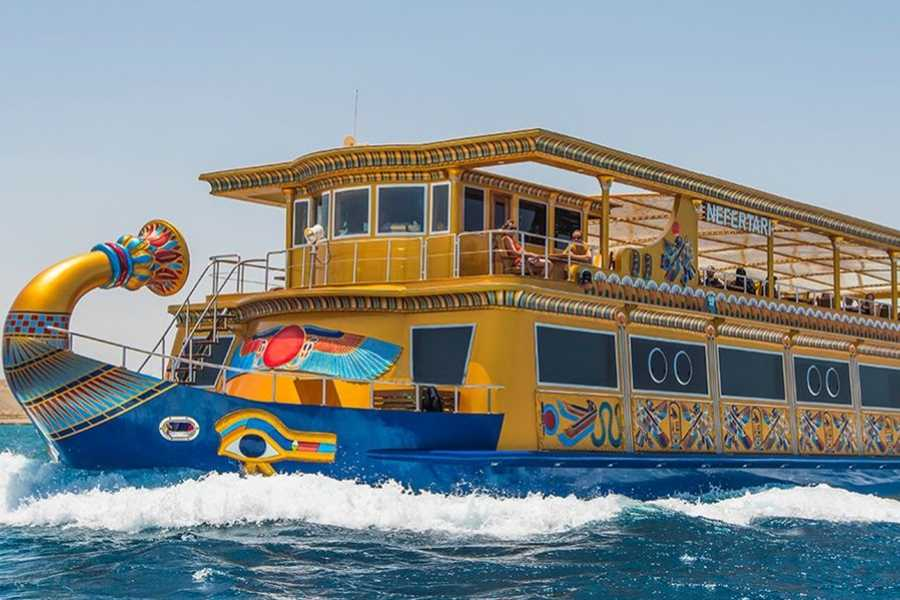 Excursies Egypte Nefertari Sea scope boat Marsa Alam trip