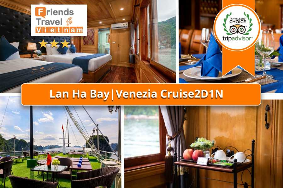 Friends Travel Vietnam Venezia Cruise | 2D1N Lan Ha Bay