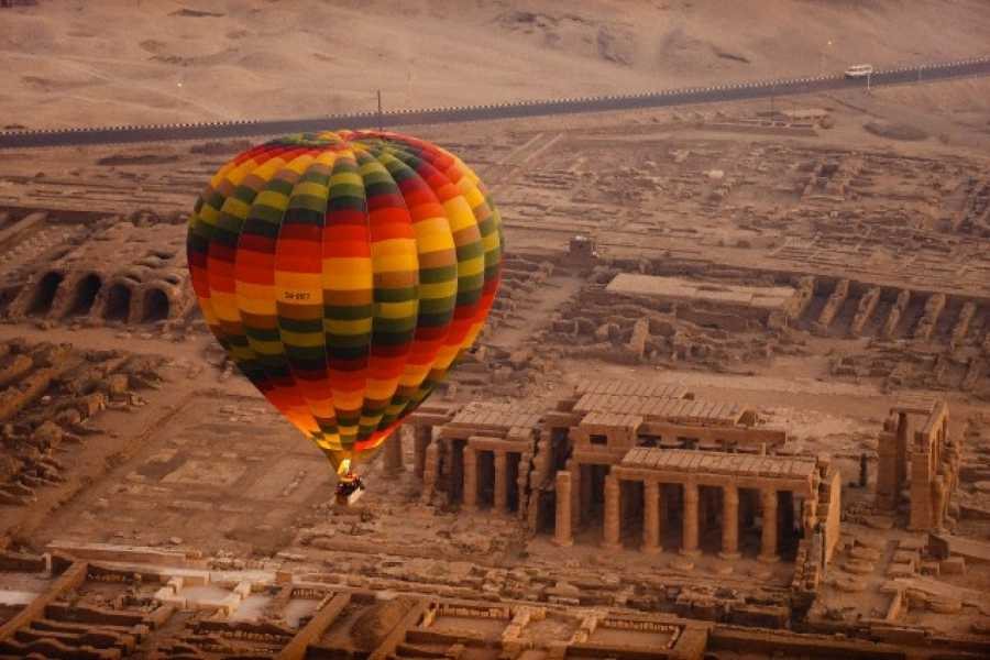 Excursies Egypte Hot Air Balloon Ride in Luxor