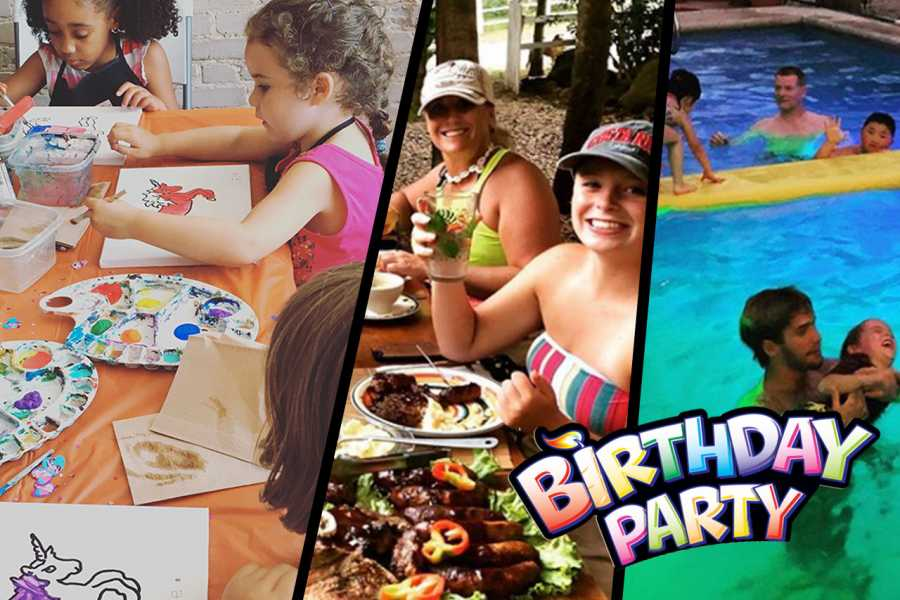 Black stallion ranch Paint a Pony - Kids Birthday Pool Party Combo