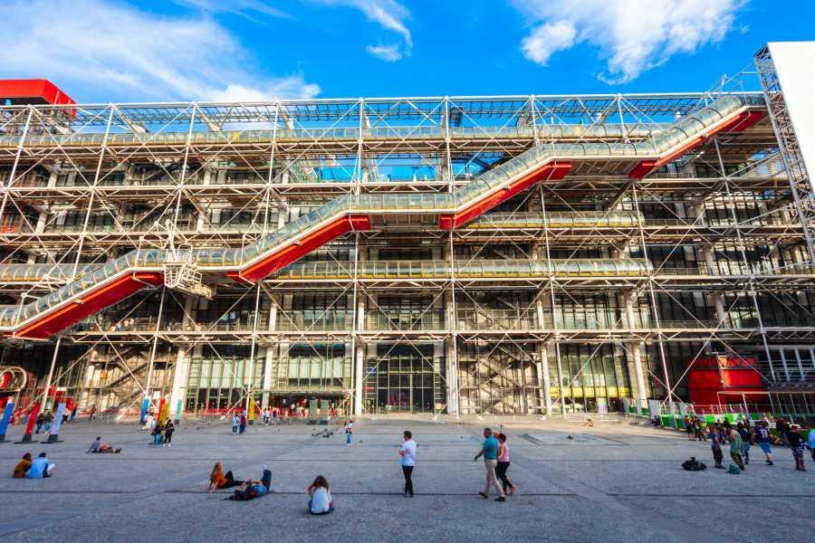 Memories France Must-Sees of Modern Art - the Pompidou Center