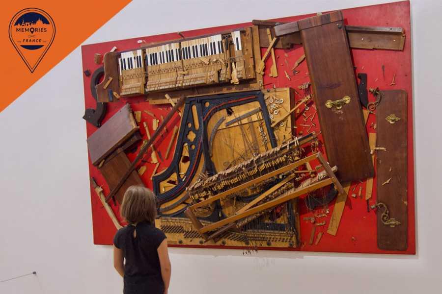 Memories DMC France Must-Sees of Modern Art - the Pompidou Center