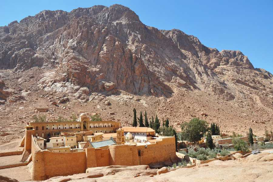 Deluxe Travel Overnight Trip to St. Catherine Monastery
