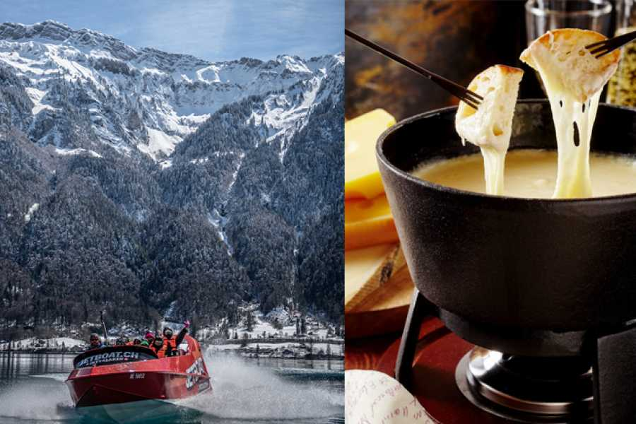 JETBOAT Interlaken Jetboat Fondue  Ride