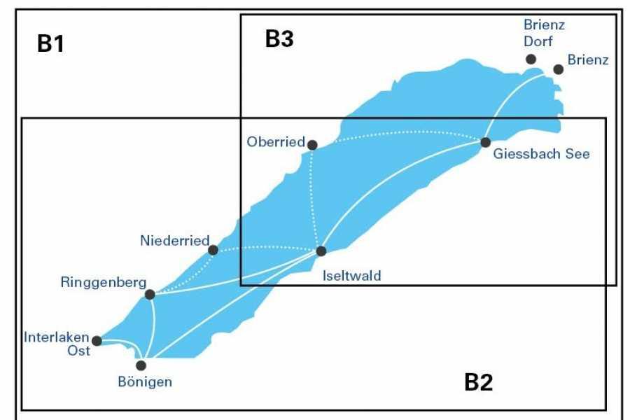 BLS AG, Schifffahrt Zone Fares Lake Brienz