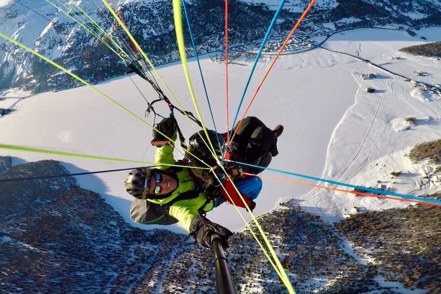 Paragliding Engadin GmbH Winter Glide