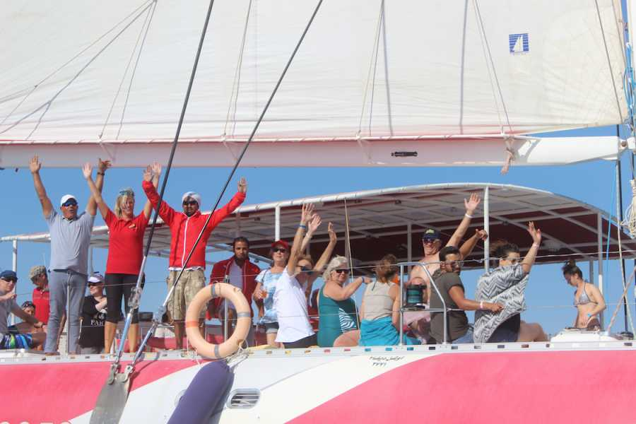 Excursies Egypte Half-Day Catamaran Sailing Trip from Hurghada