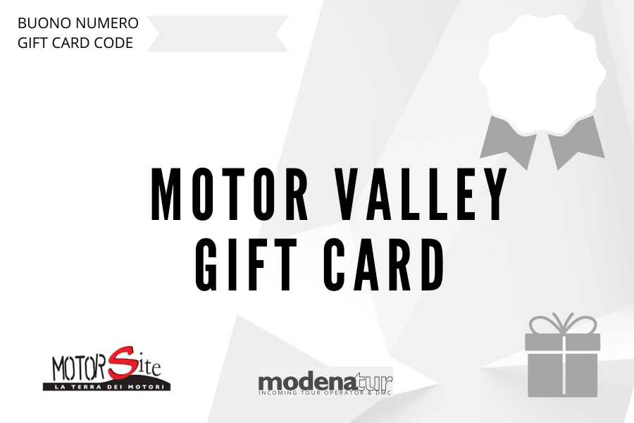Modenatur MotorValley Gift card