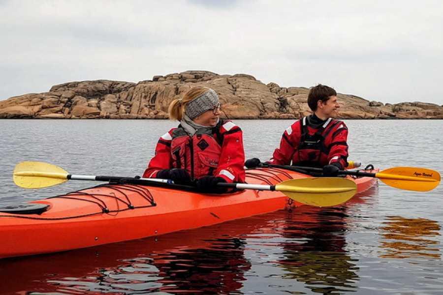 Outdoor West Vinterpaddling: Sälsafari i kajak