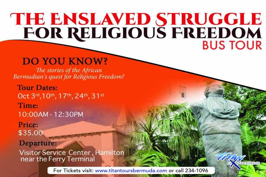 Titan Express The Enslaved Struggle for Religious Freedom Bus Tour
