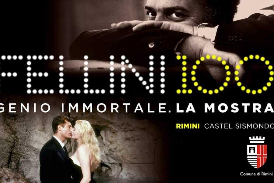 """Visit Rimini Exhibition """"Fellini 100 immortal genius"""""""