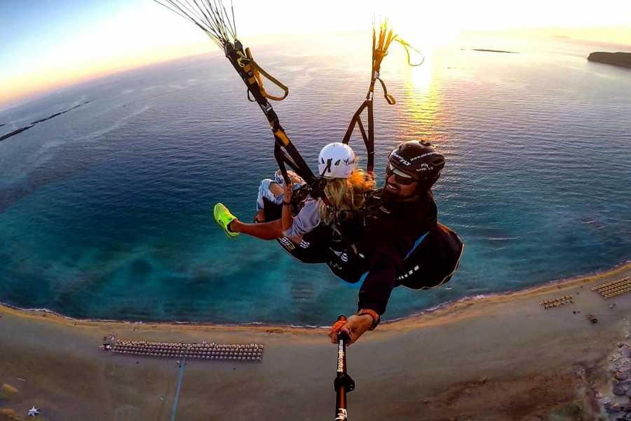 Destination Platanias Paragliding - 30 min Tandem flight