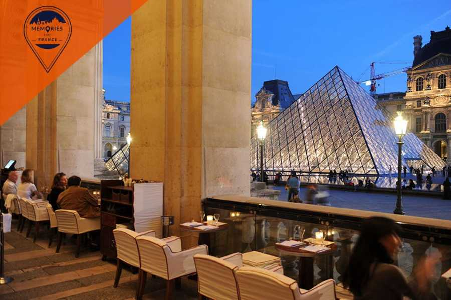 Memories France Louvre Museum Semi Private tour with French breakfast overlooking the pyramid