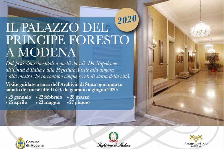 Modenatur Visite guidate al palazzo del Principe Foresto di Modena