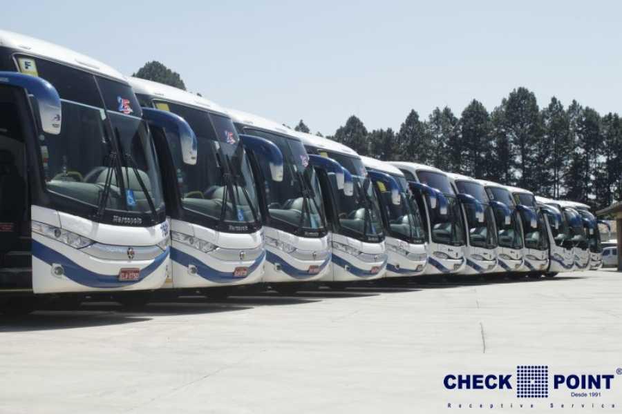 Check Point Aluguel ônibus - Irizar