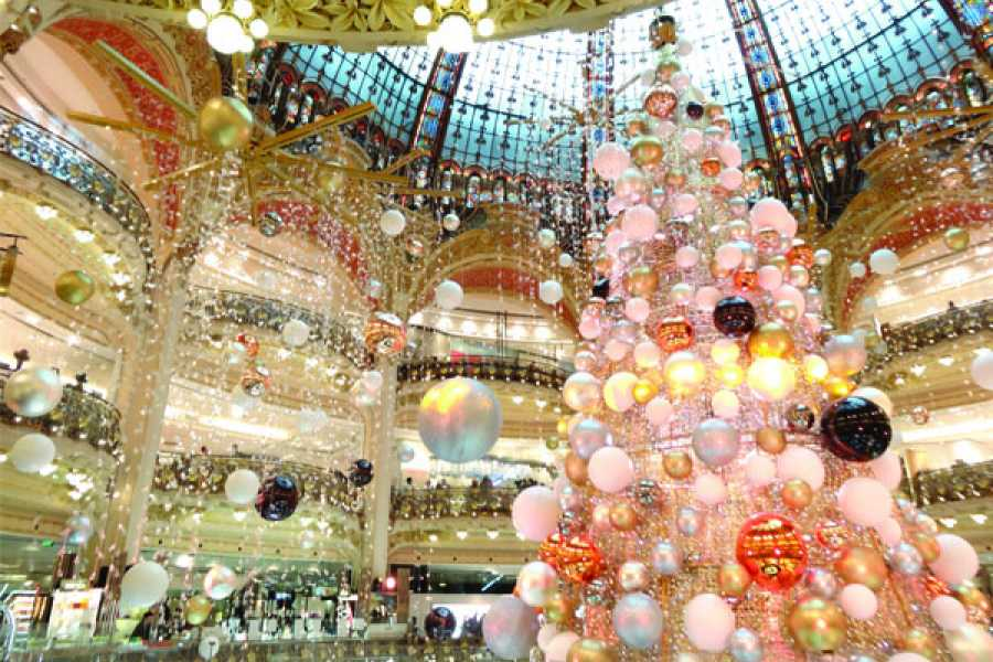 Memories France Private Christmas in Paris: Festive shopping past & present