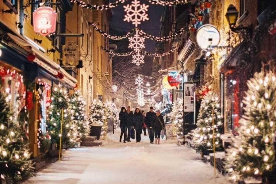 Dream Vacation Tours OLD QUEBEC–GERMAN CHRISTMAS MARKET, SPA & SHOPPING TOUR (FROM NS)