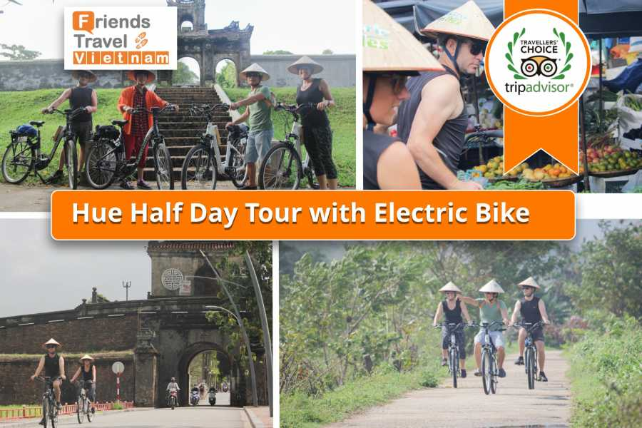 Friends Travel Vietnam Hue  Foody Half day Tour with Electric Bike