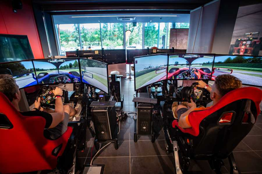 IF Imola Faenza GT Driving Simulators at Imola Racetrack