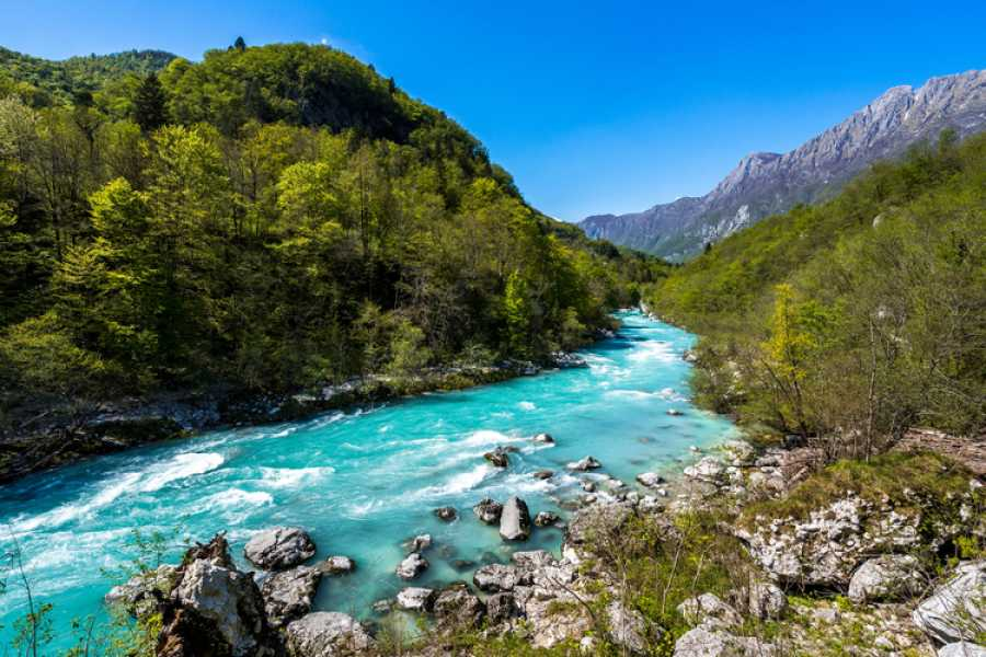 ToDoInSlovenia, brand of Kompas d.d. Private tour to Soča Valley Tour with Kranjska gora with Lunch – The Emerald pearl of the Alps