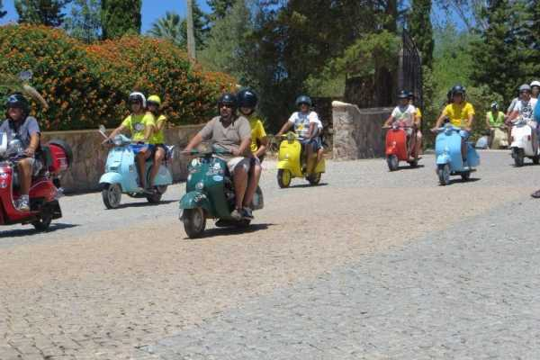 1, 3 or 7 days Vespa and Scooter Rental