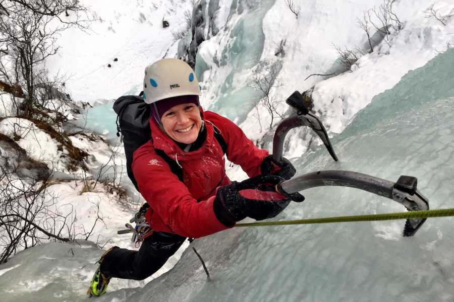 Arctic Sea to Summits Ice climbing, introduction