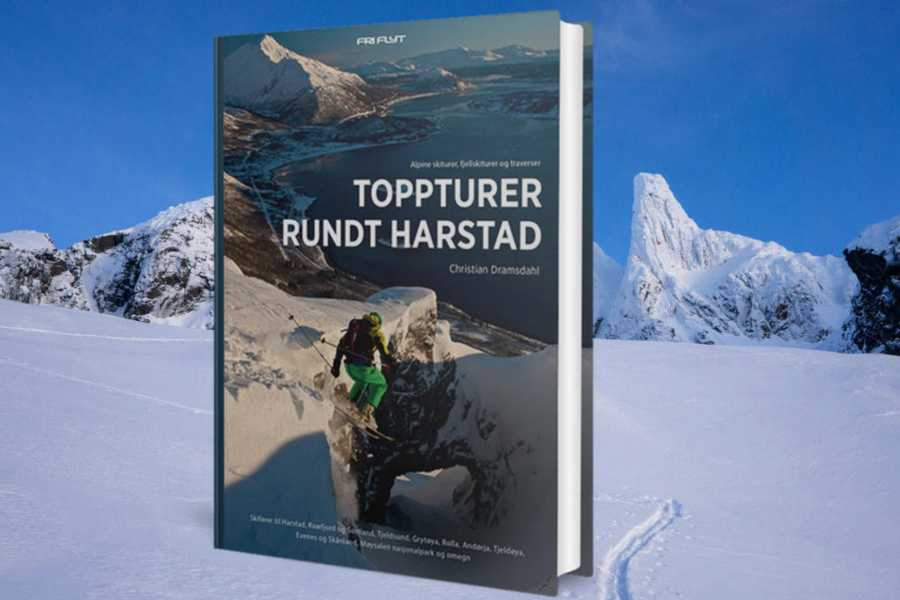 Arctic Sea to Summits Presentation of books for skiing and iceclimbing in Harstad.