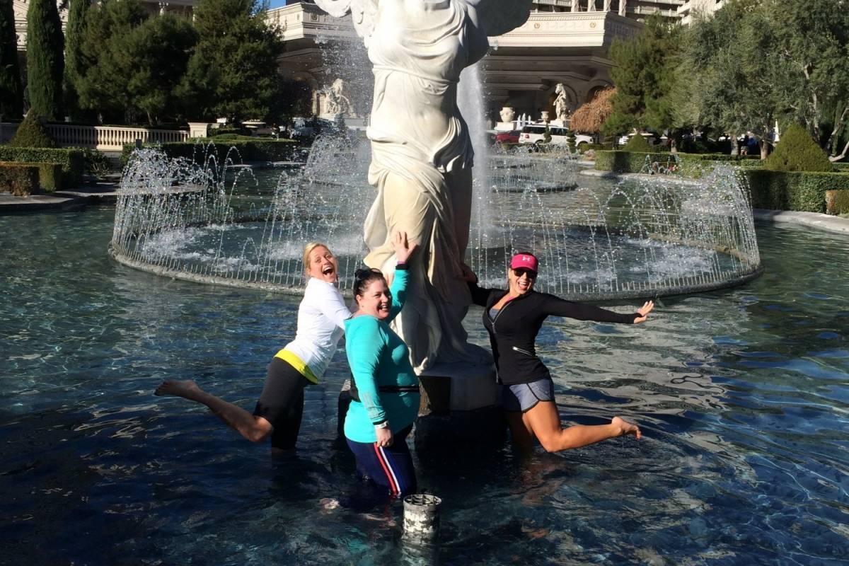 Las Vegas Running Tours (B) Historic Las Vegas Strip Run