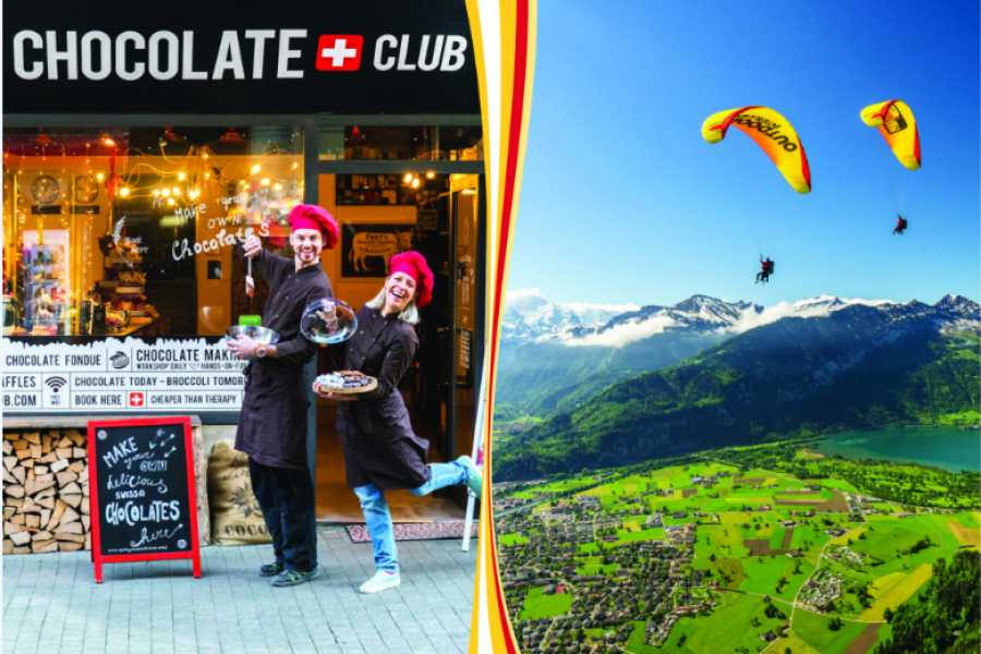 Paragliding Interlaken GmbH The Funky Chocolate flight