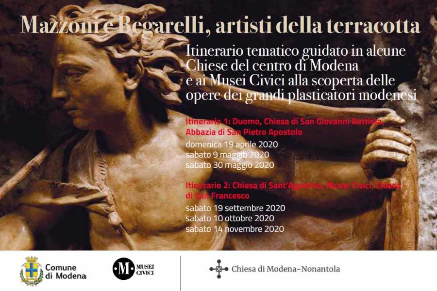 Modenatur Mazzoni e Begarelli, artisti della terracotta