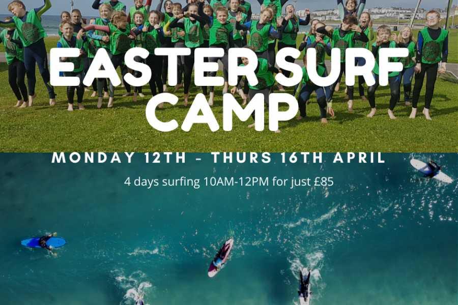 Alive Surf School Easter Kids Surf Camp
