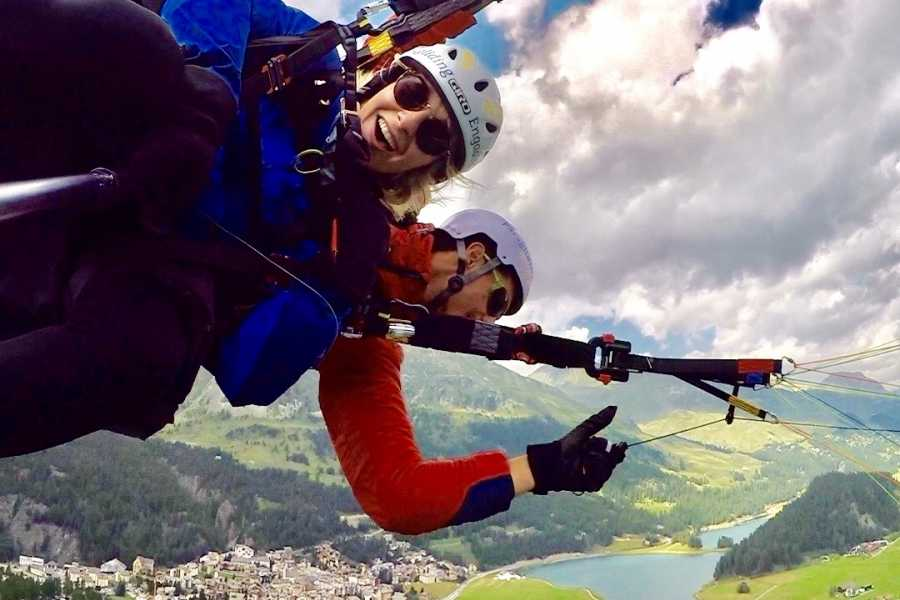 Paragliding Engadin GmbH The Adrenaline Junkie